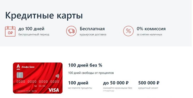 долларовая карта Альфа-банка