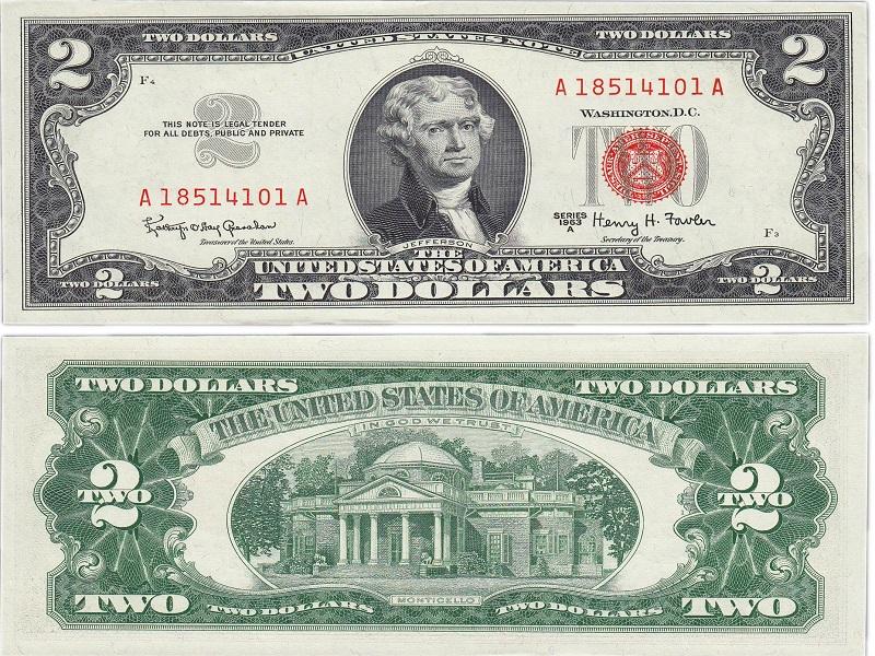 самая большая купюра долларов
