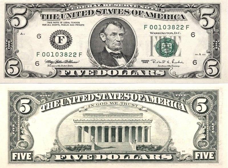 самая крупная купюра долларов