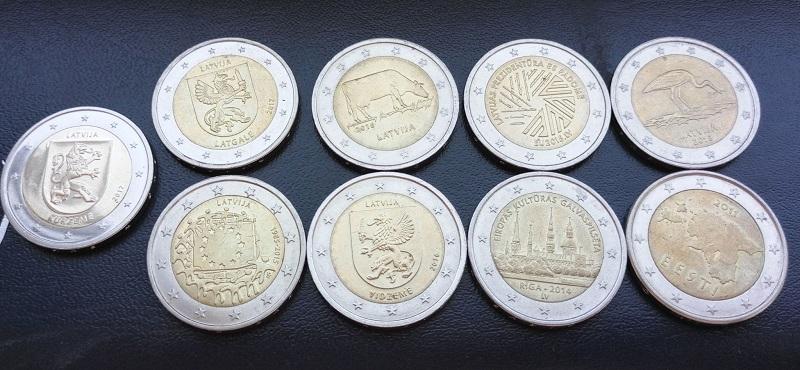 памятные монеты евро