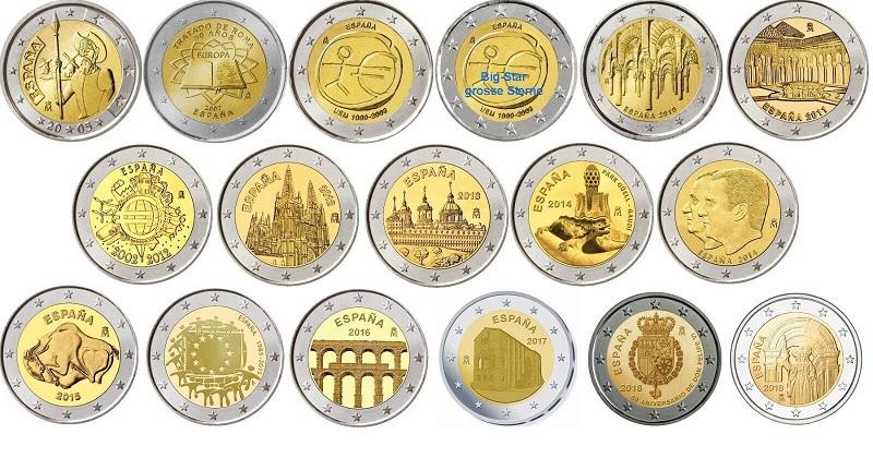 редкие монеты 2 евро